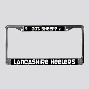 got sheep? Lancashire Heeler License Plate Frame