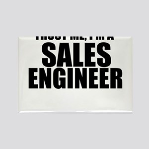 Trust Me, I'm A Sales Engineer Magnets