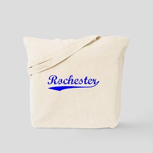 Vintage Rochester (Blue) Tote Bag