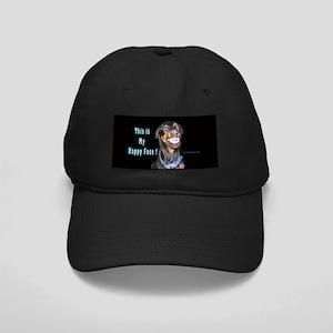 Doberman Pinscher Smiles Black Cap