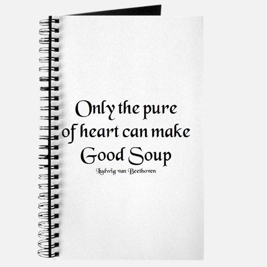 pure make soup Journal
