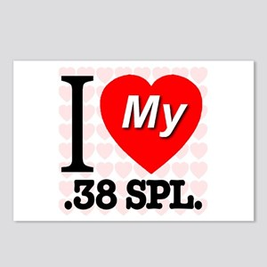 I Love My .38 SPL. Postcards (Package of 8)