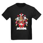 Hillner Family Crest Kids Dark T-Shirt