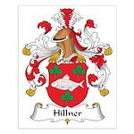 Hillner Family Crest Small Poster
