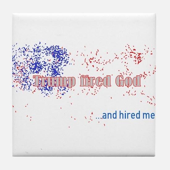 Trump Tile Coaster