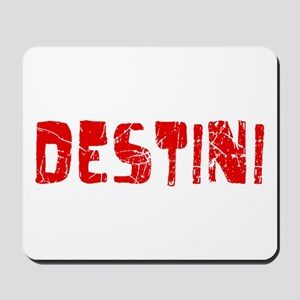 Destini Faded (Red) Mousepad