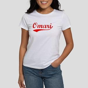 Vintage Omari (Red) Women's T-Shirt