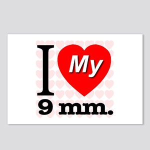 I Love My 9 mm. Postcards (Package of 8)