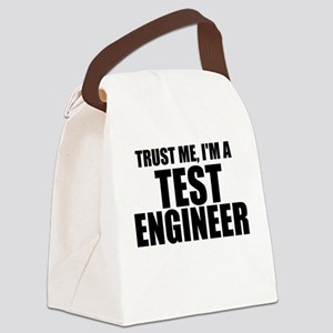 Trust Me, I'm A Test Engineer Canvas Lunch Bag