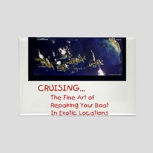 Cruising Rectangle Magnet (10 pack)