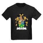 Heuss Family Crest Kids Dark T-Shirt