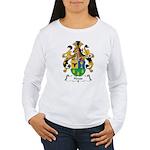 Heuss Family Crest Women's Long Sleeve T-Shirt