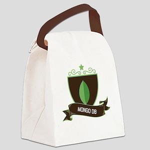 MongoDB Canvas Lunch Bag