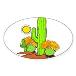 Extreme Heat Oval Sticker (10 pk)