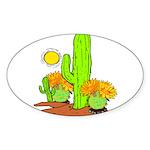 Extreme Heat Oval Sticker