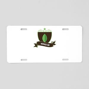 MongoDB Aluminum License Plate