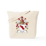 Hertell Family Crest Tote Bag