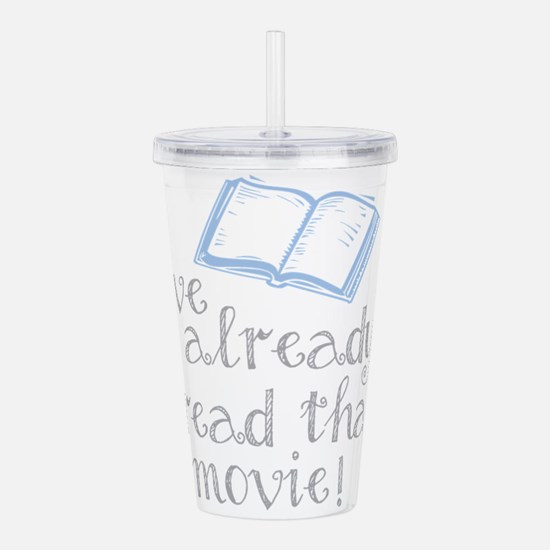 Read that movie Acrylic Double-wall Tumbler