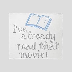 Read that movie Throw Blanket