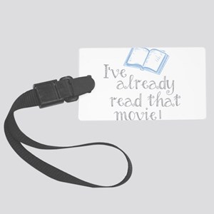 Read that movie Large Luggage Tag
