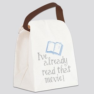 Read that movie Canvas Lunch Bag
