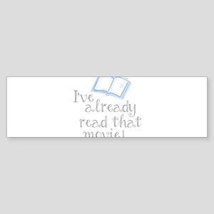 Read that movie Bumper Sticker