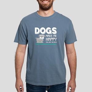 Dogs Make Happy T Shirt T-Shirt