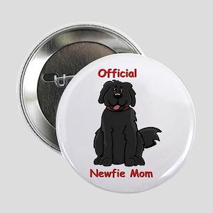 "Newfie Mom 2.25"" Button"