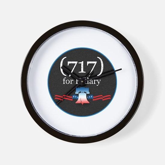 PENNSYLVANIA - (717) for Hill Wall Clock