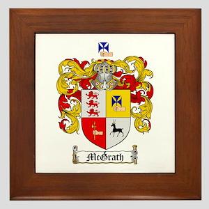 McGrath Family Crest Framed Tile