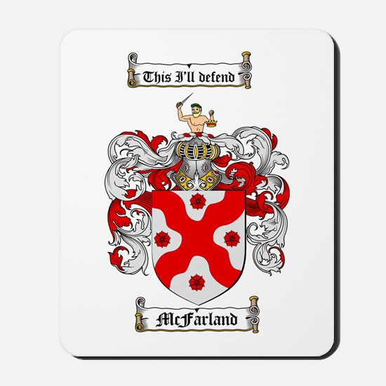 McFarland Family Crest Mousepad