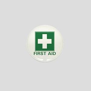 First Aid Mini Button