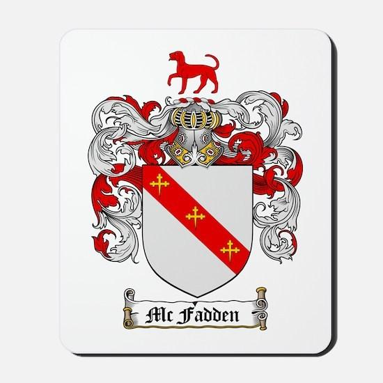 McFadden Family Crest Mousepad