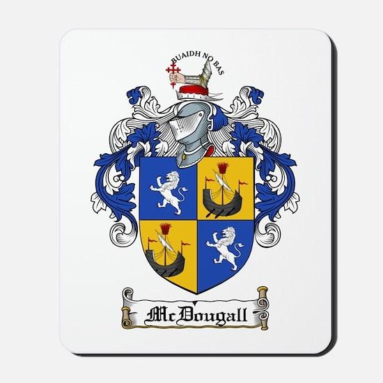 McDougall Family Crest Mousepad