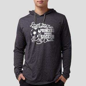 Princess Wears Soccer Cleats T Long Sleeve T-Shirt