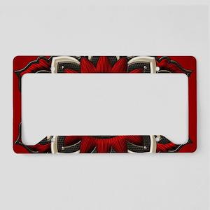 Wonderful noble mandala design License Plate Holde