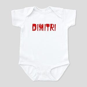 Dimitri Faded (Red) Infant Bodysuit