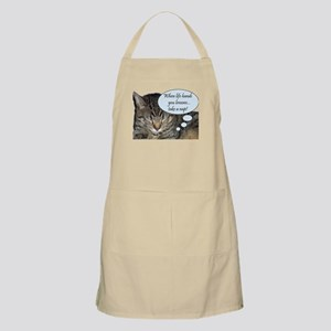 CAT NAP HUMOR BBQ Apron