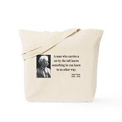 Mark Twain 34 Tote Bag