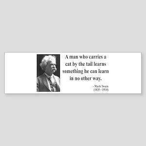 Mark Twain 34 Bumper Sticker