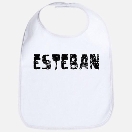 Esteban Faded (Black) Bib