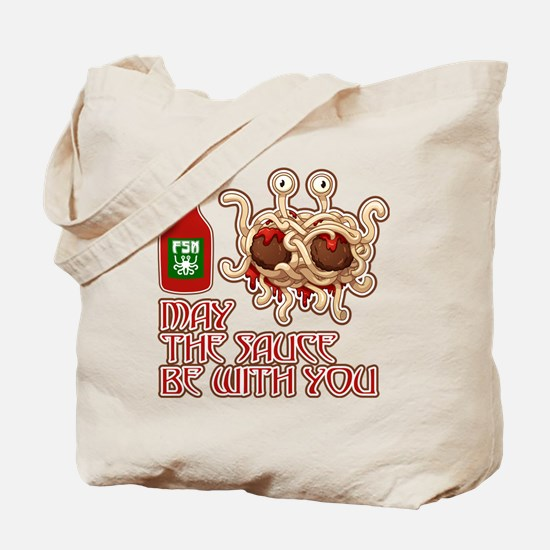 Funny Intelligent design Tote Bag