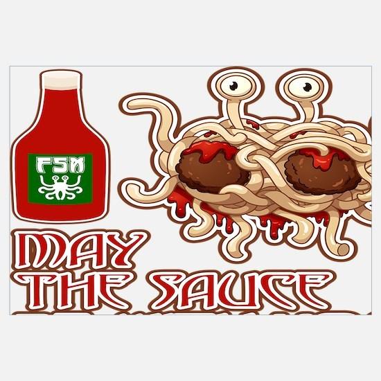 Funny Spaghetti Wall Art