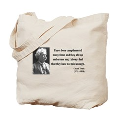 Mark Twain 12 Tote Bag