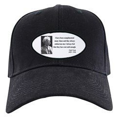 Mark Twain 12 Baseball Hat