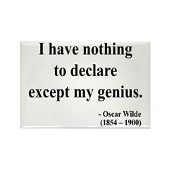 Oscar Wilde 14 Rectangle Magnet (100 pack)