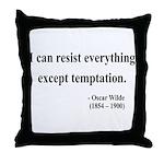 Oscar Wilde 2 Throw Pillow