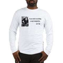 Oscar Wilde 2 Long Sleeve T-Shirt