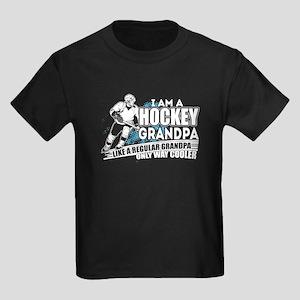 I Am A Hockey Grandpa T Shirt T-Shirt