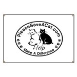 PleaseSaveACat.com Banner